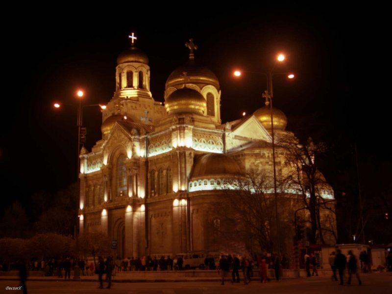 Varna- Katedrale by Night #1