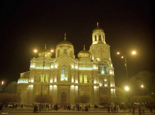 Varna- Katedrale by Night