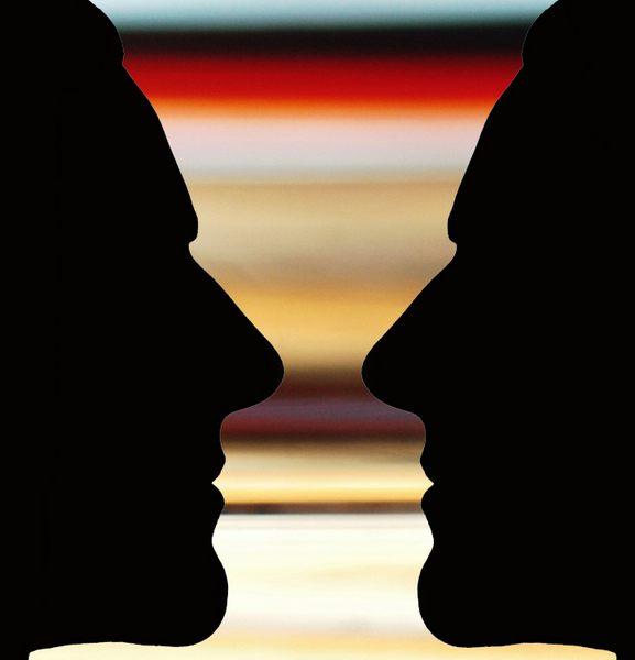 Vase mit Profil