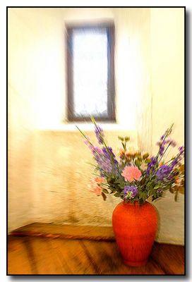''Vase und Fenster''