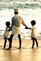 Vater mit Söhnen