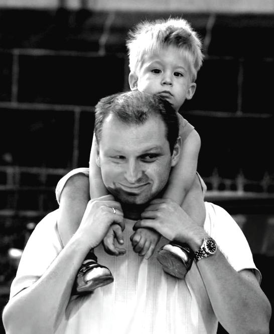 Vater und Sohn 03 2009 SW.