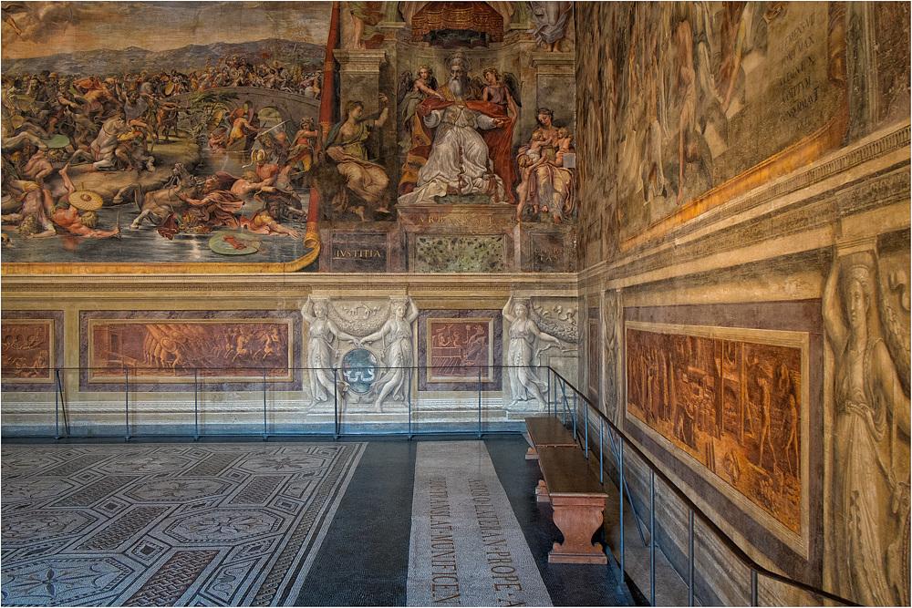 Vatikanische Museen - Sala di Constantino..