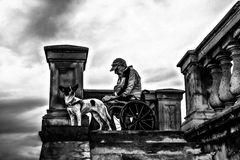 vecchio col cane
