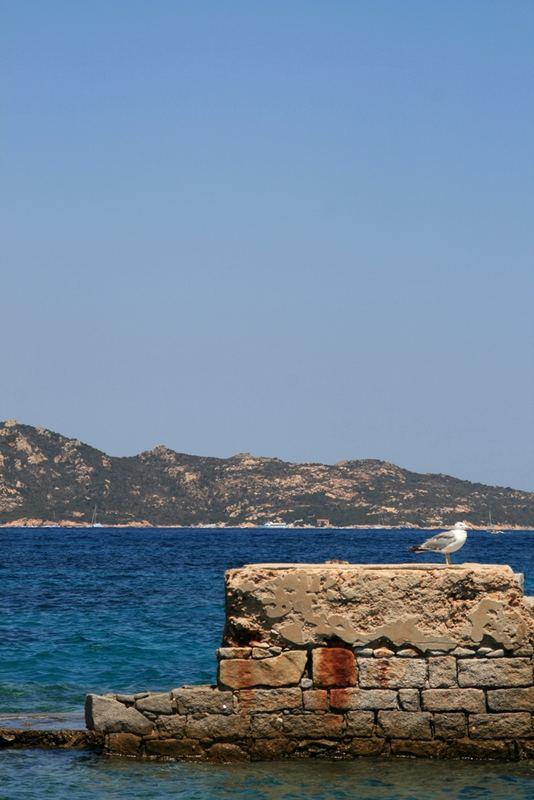 Vecchio pontile (Arcipelago La Maddalena)