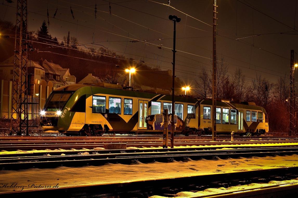 Vectus Nachtzug in Koblenz