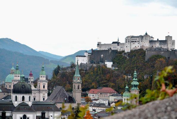Veduta di Salisburgo