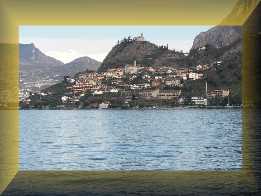 veduta Lago D'Iseo