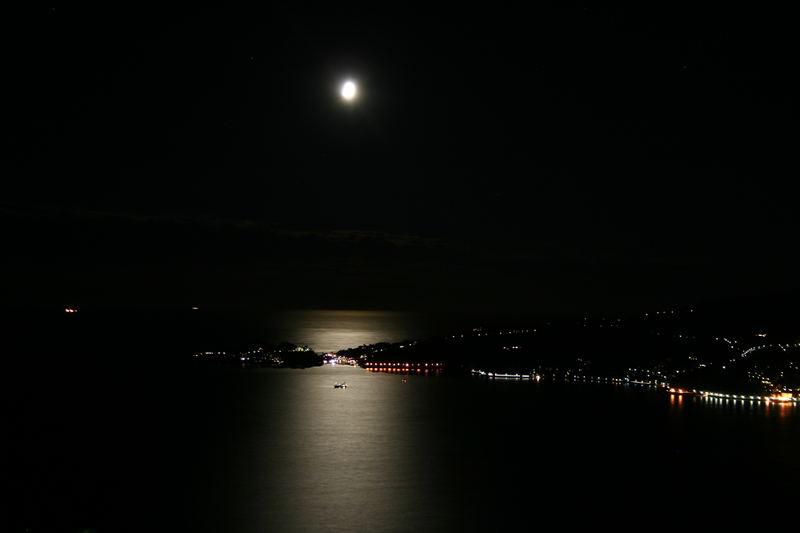 Veduta notturna di Rapallo