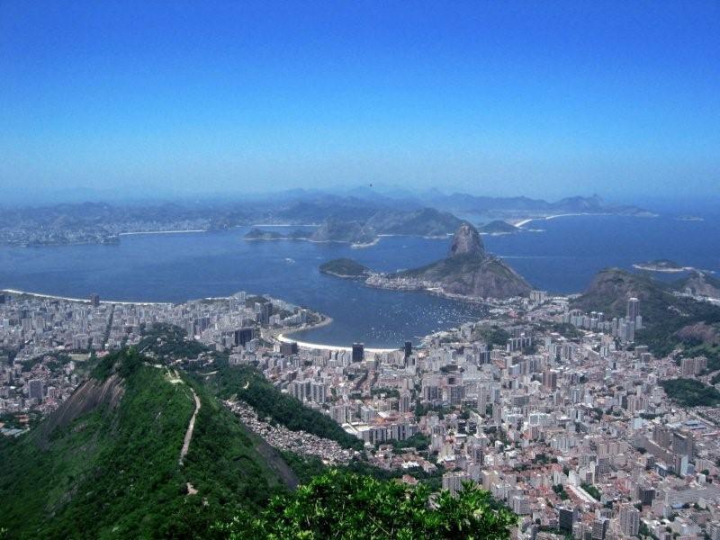 Veduta su Rio