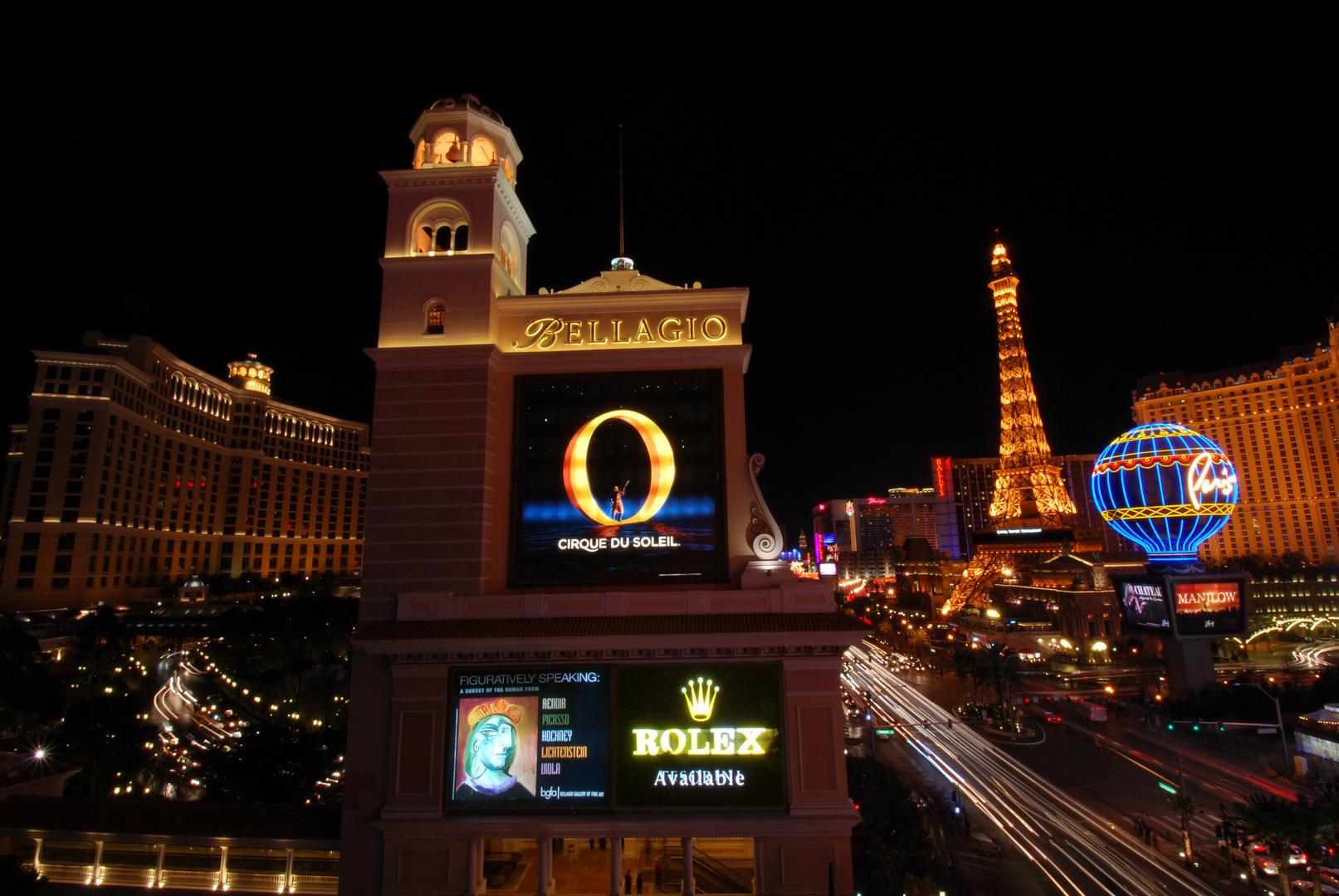 Vegas by night