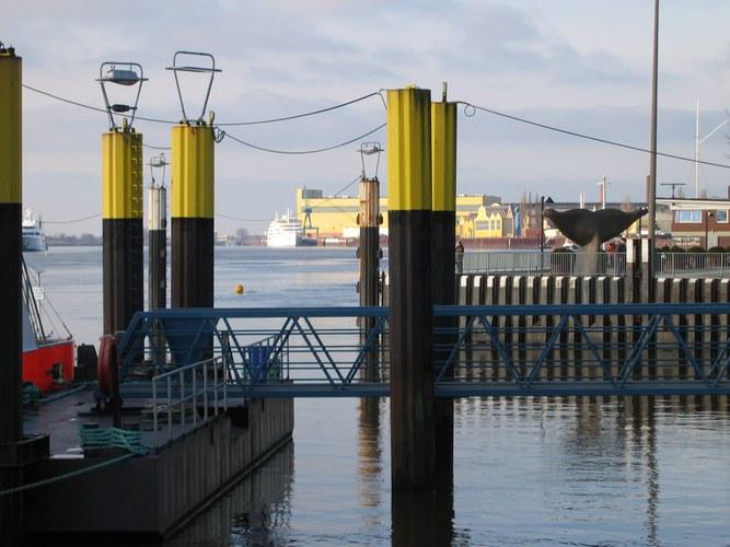 Vegesack an der Weser
