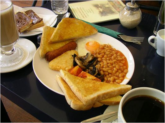 VEGETARIAN Full English Breakfast :-)