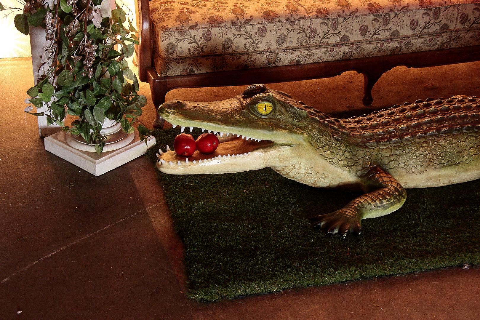 Vegetarisches Krokodil