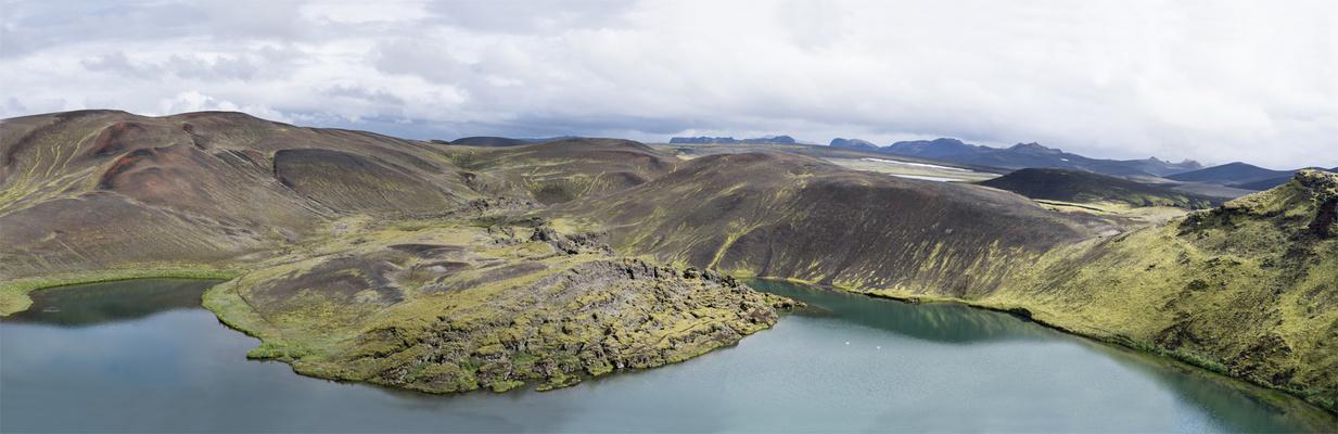 Veidivötn-Panorama