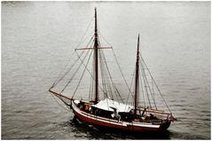 Veliero  nel fjord di Oslo.