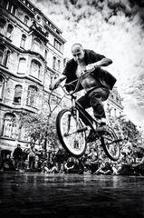 Vélo artiste bruxellois