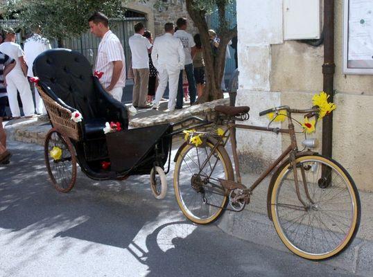 vélo tracteur.......