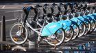 Vélos in blau