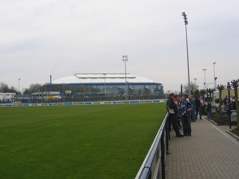 Veltinsarena auf Schalke