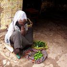 vendedora, etiopia
