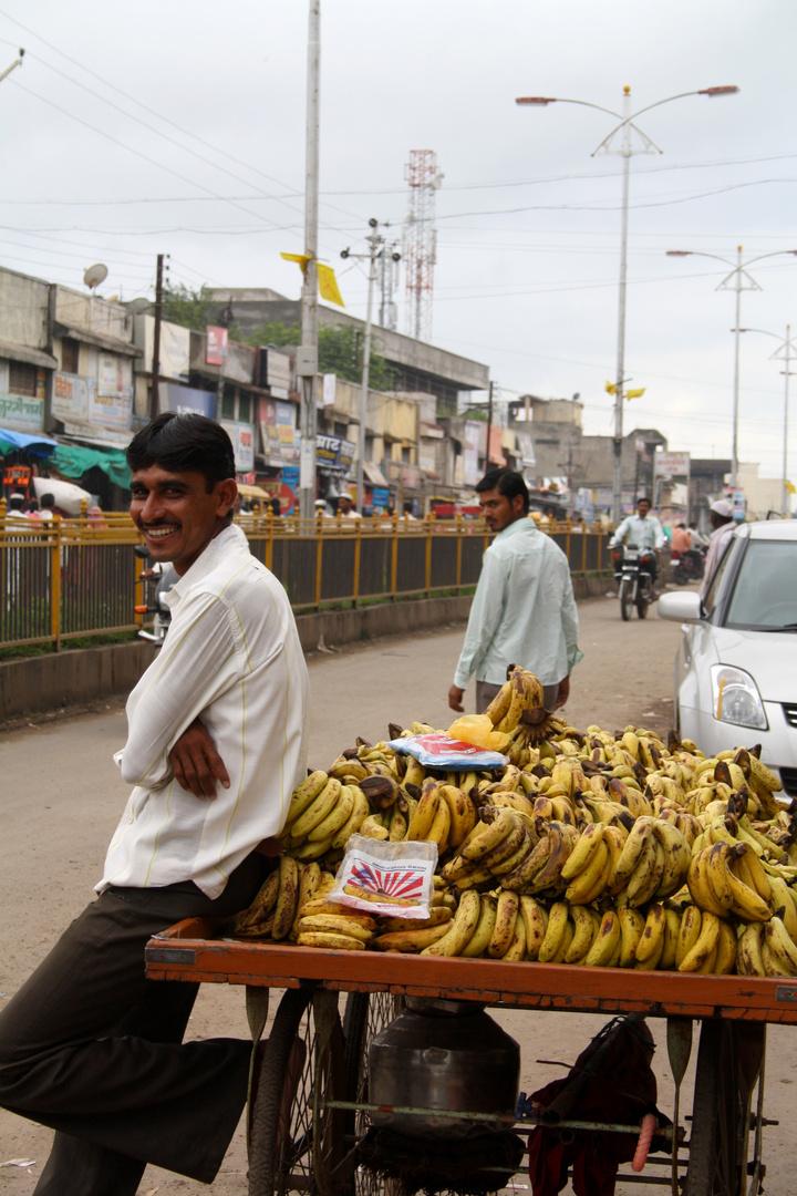 vendeur bananes