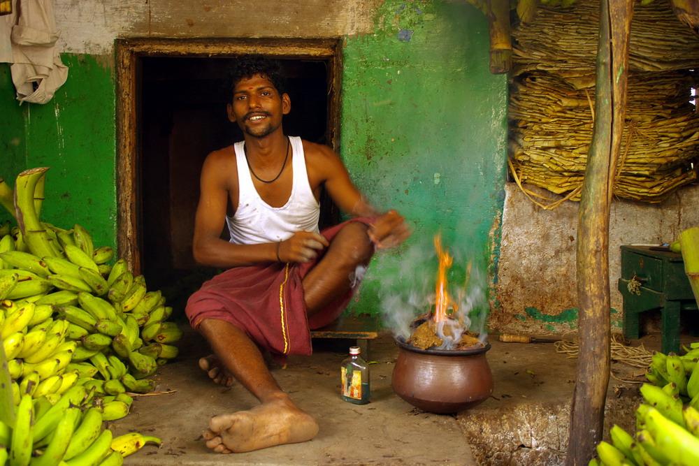 vendeur de bananes Maduraï