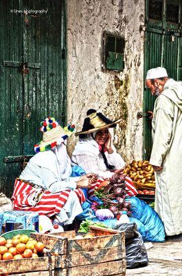 Vendeuses à Tetouan