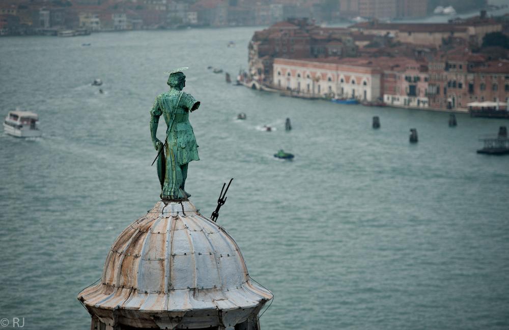 Venedig 10/VII - gute Aussicht