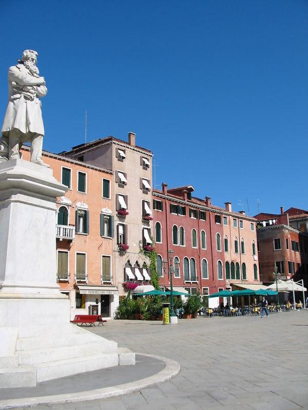 Venedig 2005 einer der vielen Plätze