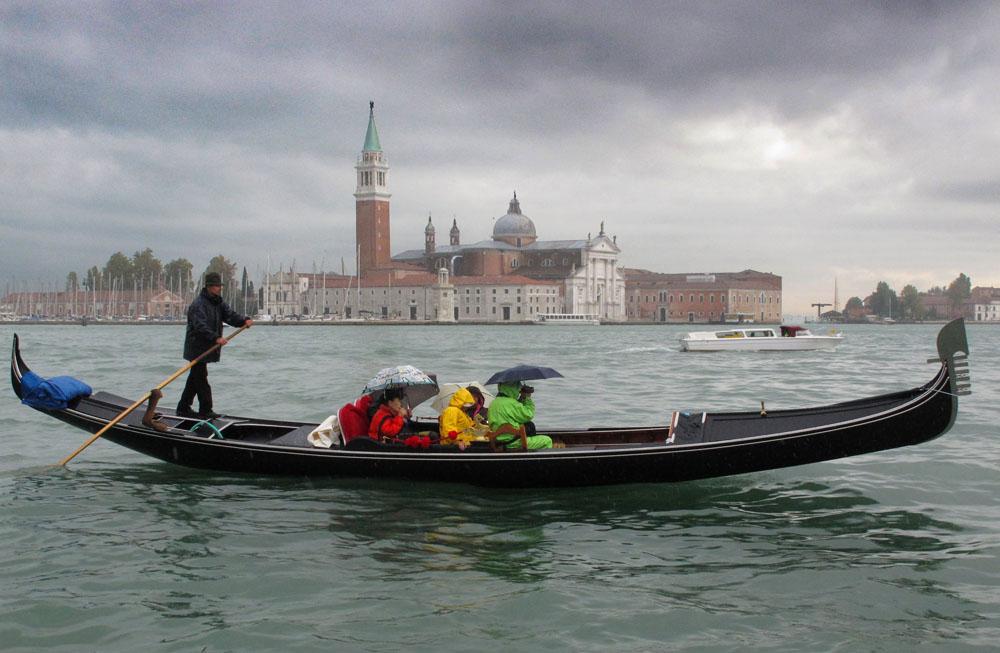 Venedig 2011 regnerisch