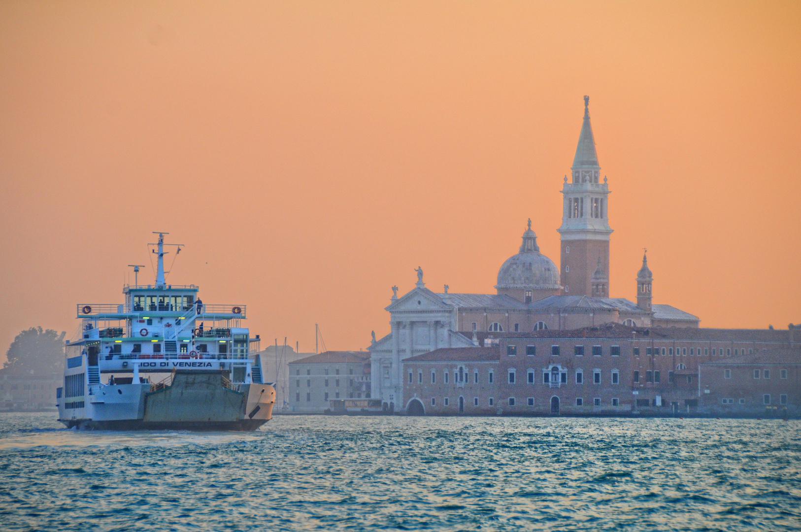 Venedig - Abend auf der Lagune