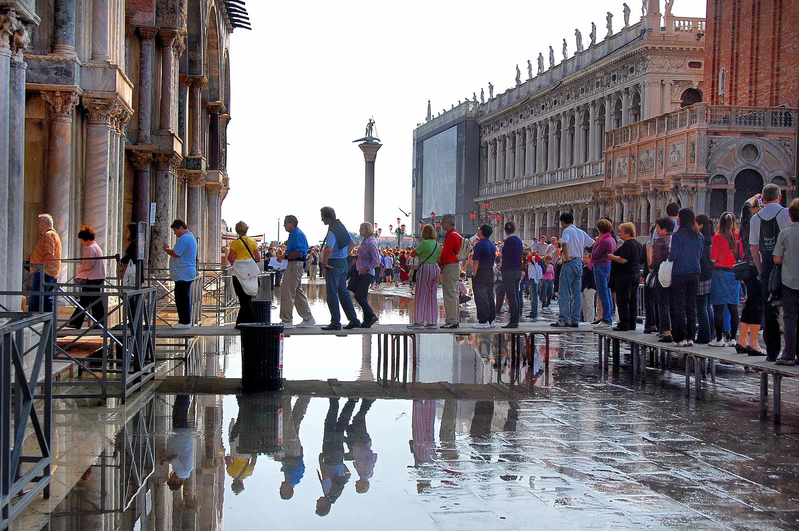 Venedig: aqua alta