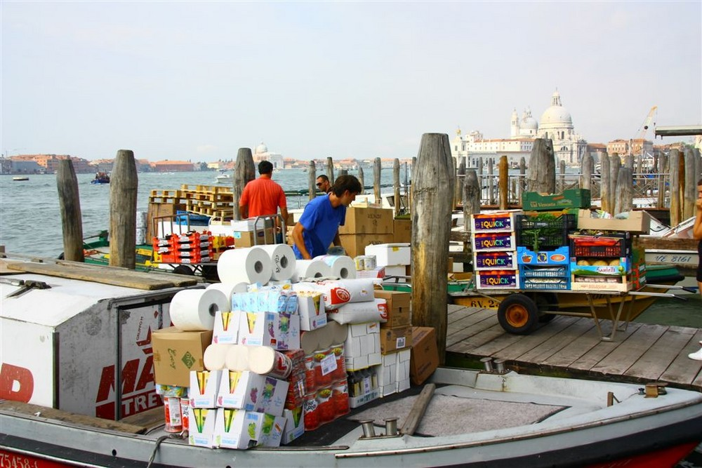 Venedig Arbeitsalltag