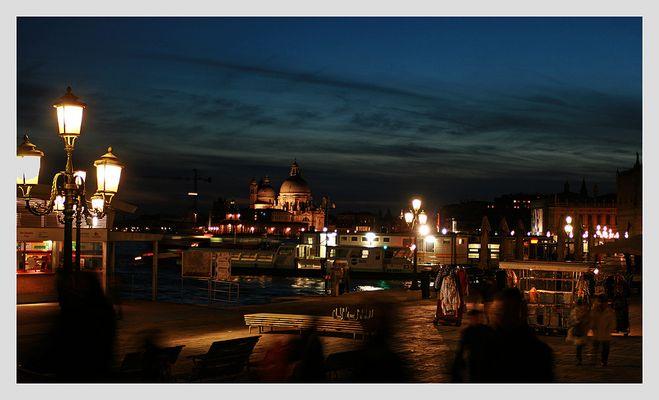 Venedig, beim Eindunkeln