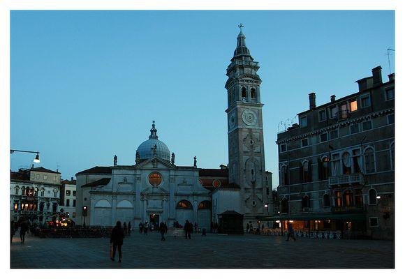 Venedig, blaue Stunde