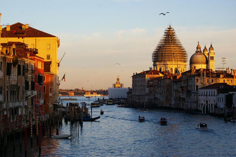 Venedig Blick auf Canale grande