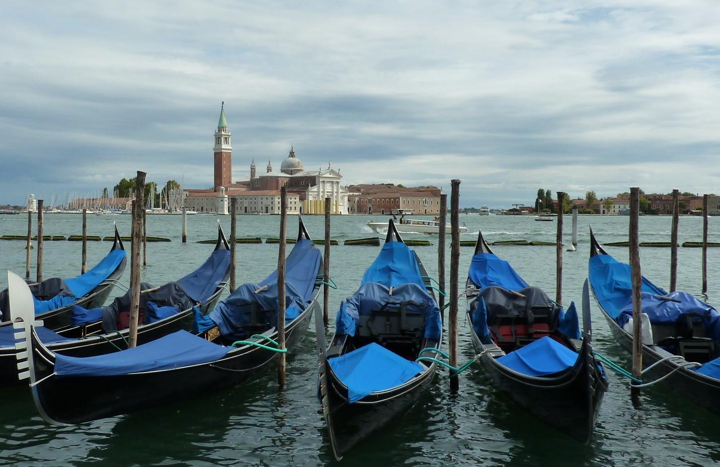Venedig, Blick auf San Giorgio Maggiore