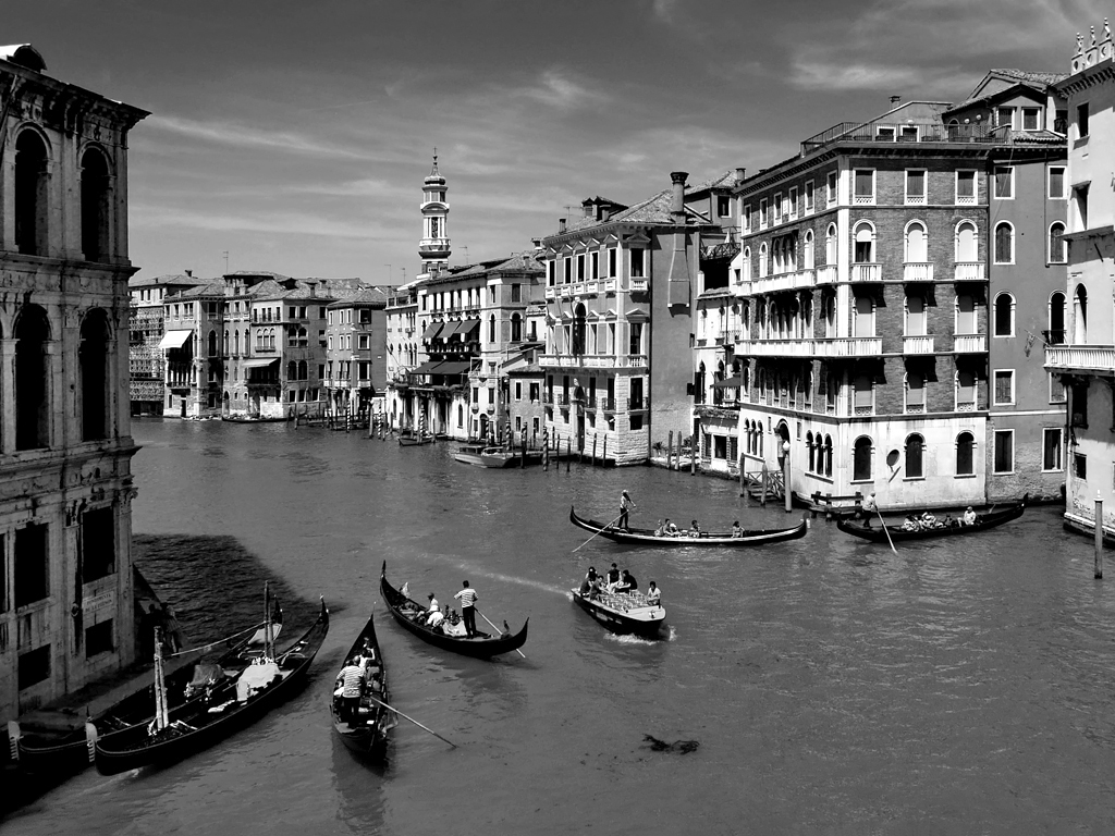 Venedig - Blick von Rialto Brücke
