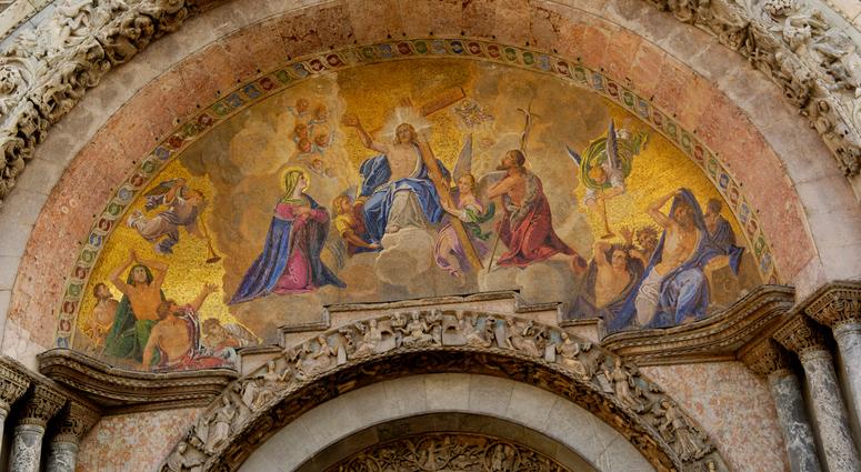 Venedig - Dogenpalast - Detailansicht