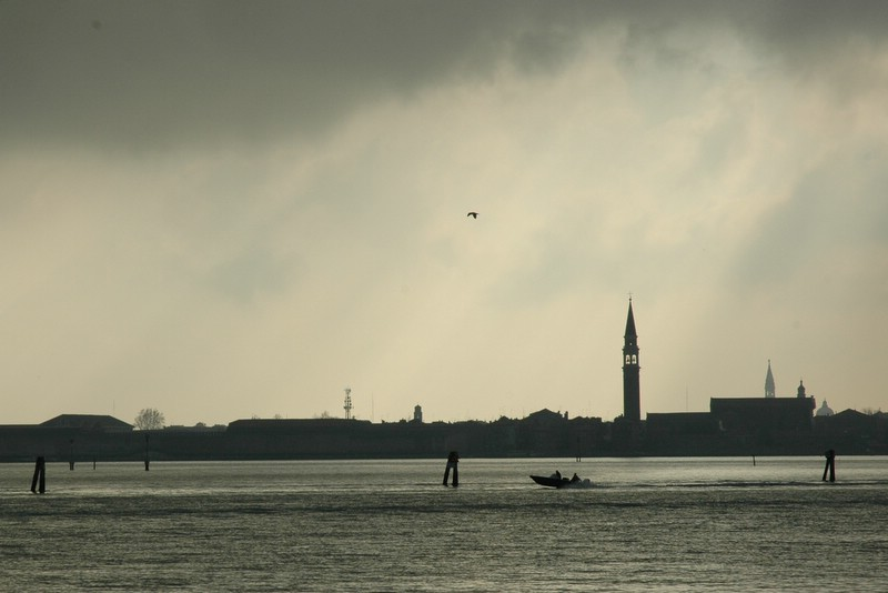 Venedig, gestern von Murano gesehen