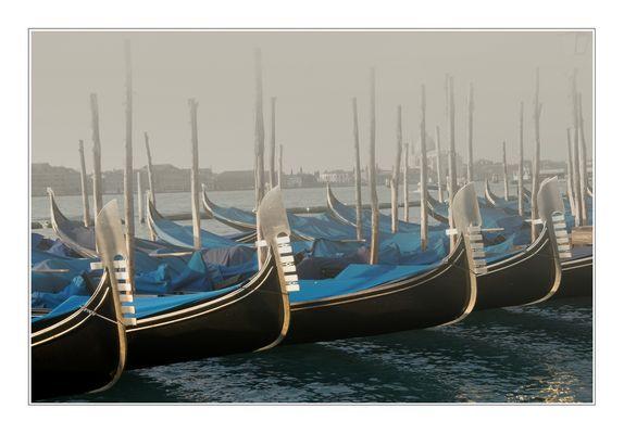 "Venedig im Januar: Morgens um sieben an der ""Mole"""