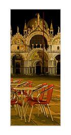 Venedig im Januar: Zehn Uhr abends am Gran Caffè Quadri