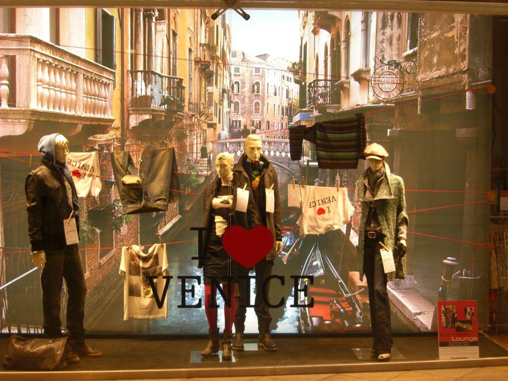 Venedig im Kaufhaus