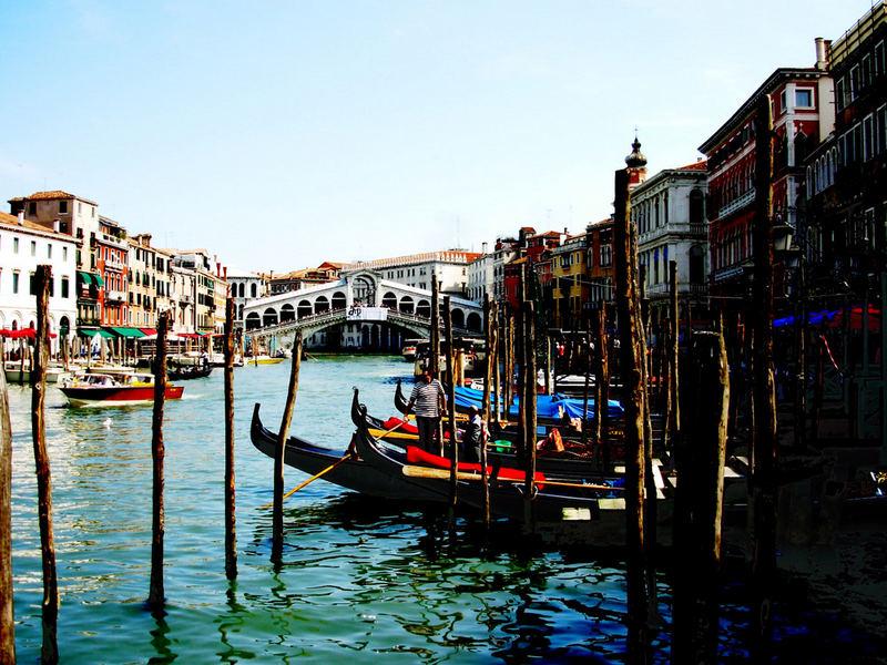 Venedig im Style alterPostkarten