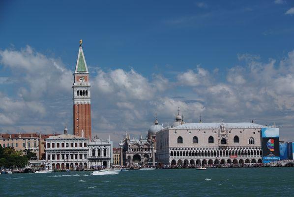 Venedig im Vaporetto