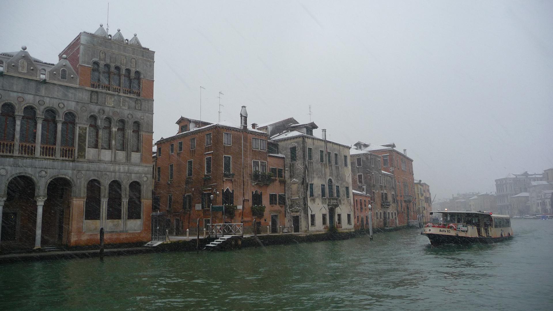 """Venedig im Winter""...."