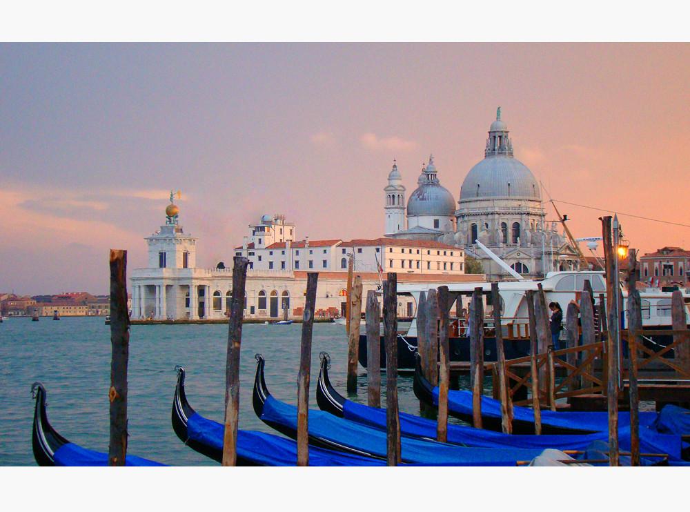 Venedig in der Dämmerung