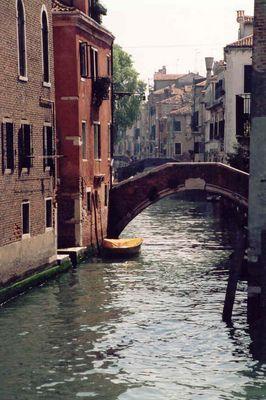 Venedig. Kanal im Stadtteil Canareggio