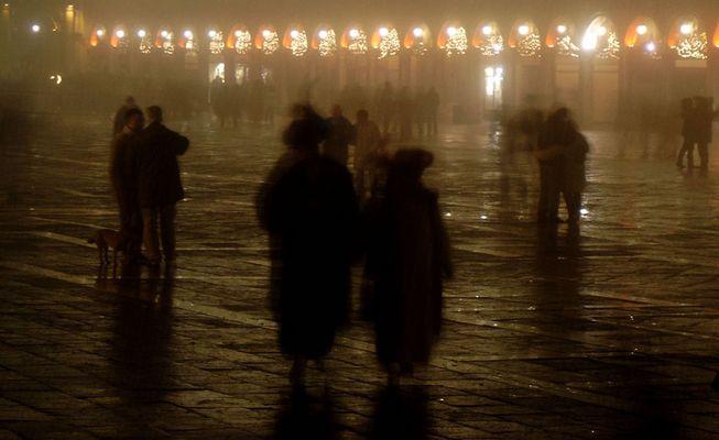 Venedig kann sehr kalt sein ...